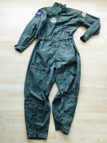 Retro Full Gauge Flight Suit