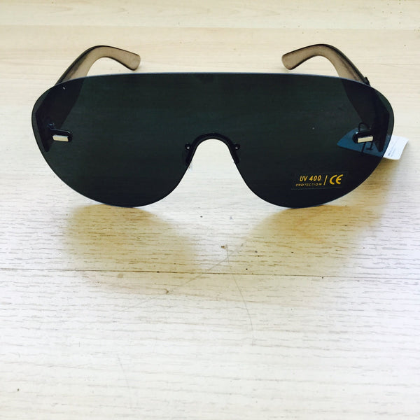 Ice Black Blocker Shades
