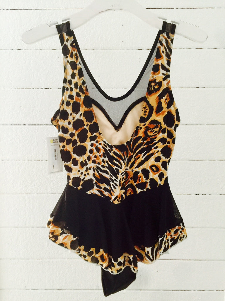 Vintage Cheetah One Piece