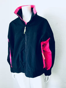 Retro Neon Fleece Jacket - Closet Freekz