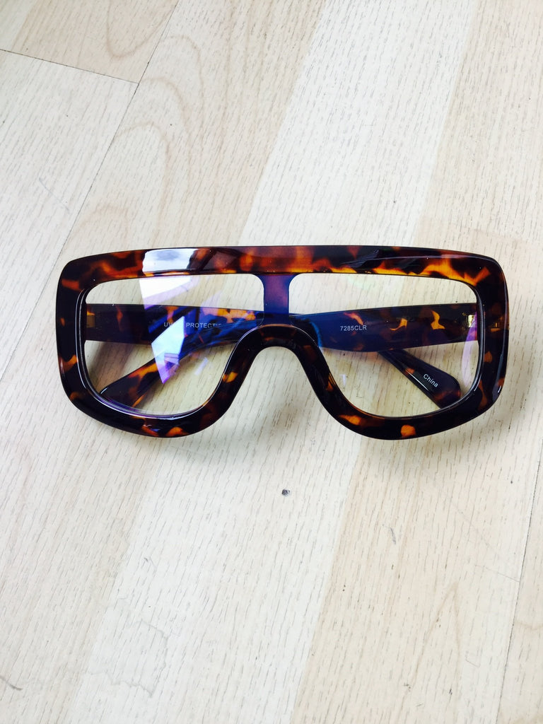 Cheater Clear Frames (Cheetah)