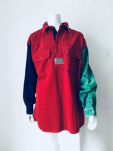 Retro Custom Looney Toons Corduroy Button Up Top - Closet Freekz