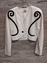 AS IS - Pia Rucci Black and White Blazer - Closet Freekz