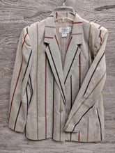 Christopher Stripe Blazer Jacket - Closet Freekz