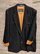Criscione Black and Gold Blazer - Closet Freekz