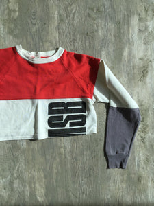 4TH & TEN CUSTOM CROP CREWNECK