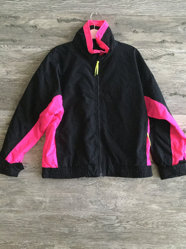 Retro Neon Fleece Jacket