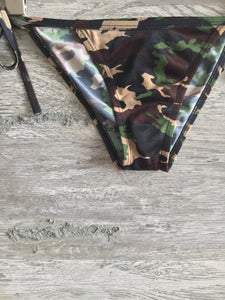 Camo String Swim Bottoms