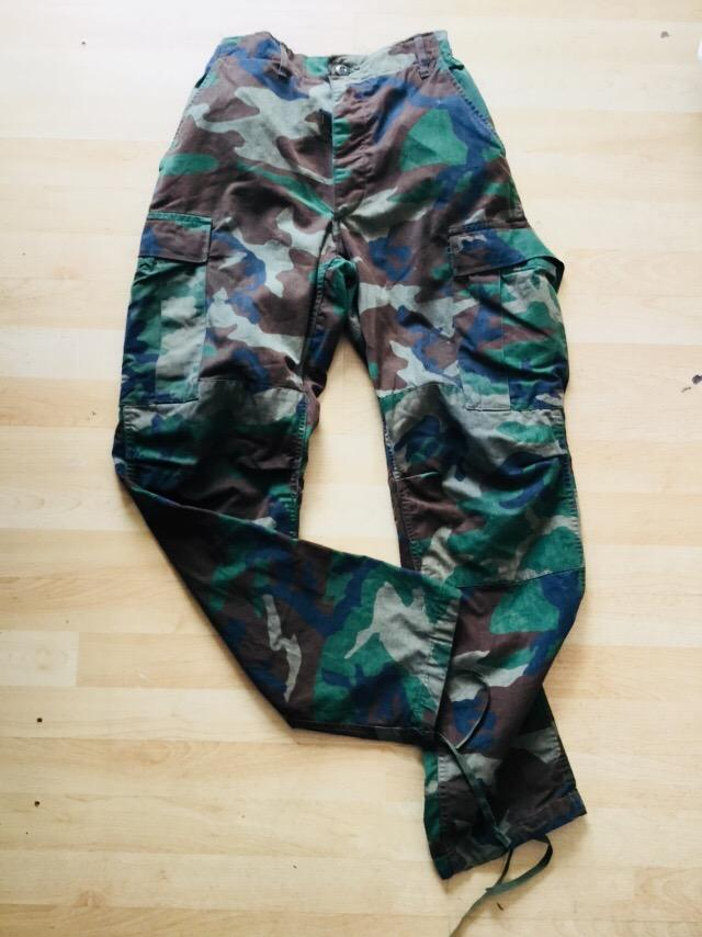 Distressed Camo Pants