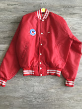 Red PAT Varsity Jacket - Closet Freekz