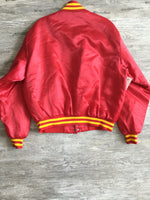 Distressed Red and Yellow U.S. Marine Varsity Jacket