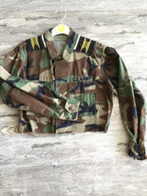 This or That Crop Tribal Army Jacket - Closet Freekz