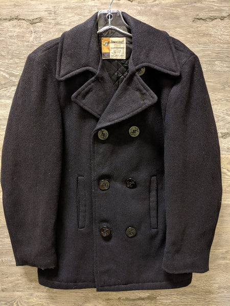 Towncraft Prep Black Wool Outerwear Jacket