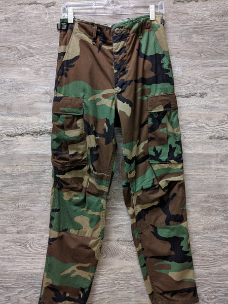 Army Camo Tie Pants