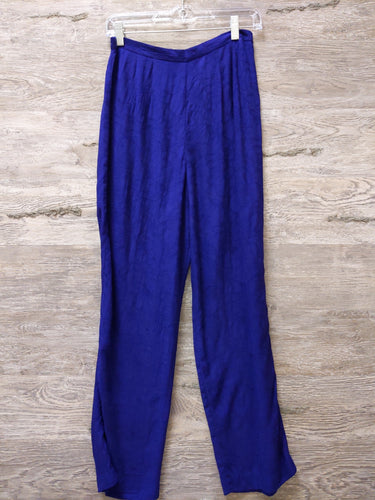 K Petite Purple Tapered Pants