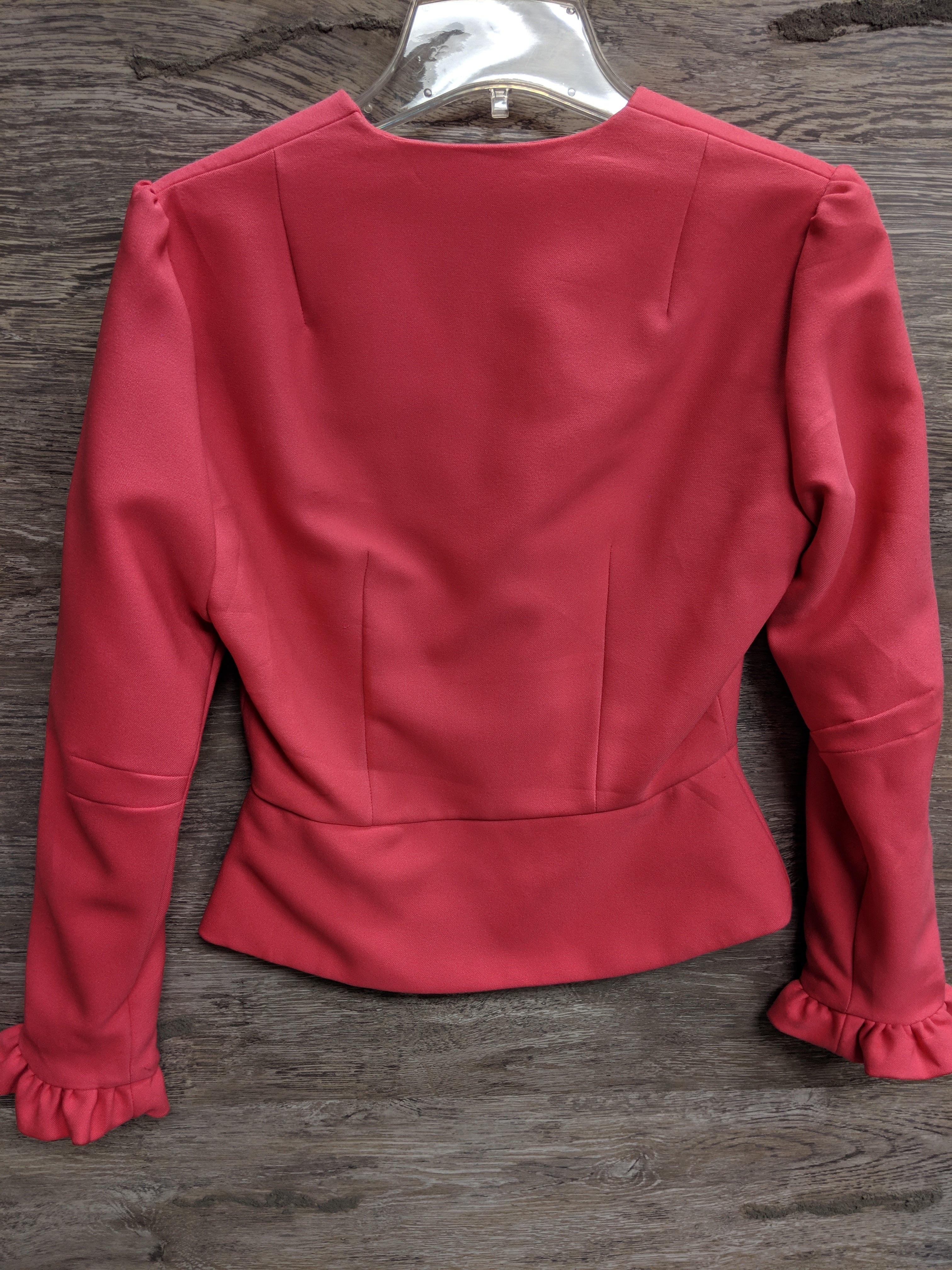 AS IS - Ruth Hughes Custom Pink Blouse