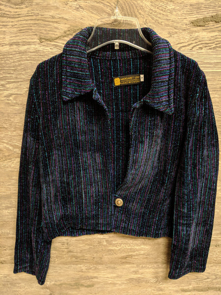 Margaret Lent Stripe Wool Blazer