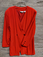 Intuitions Red Lightweight Blazer