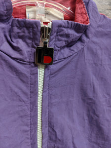 Bonnie Sportswear Purple and Pink Windbreaker - Closet Freekz