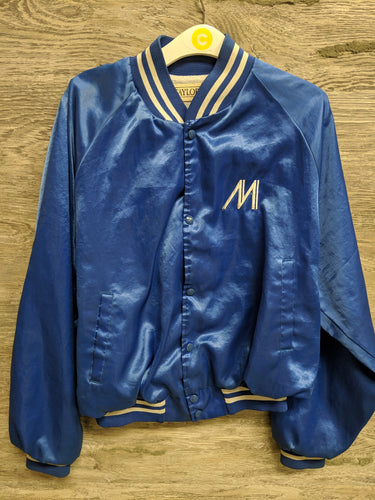 Taylor Blue Varsity Jacket - Closet Freekz