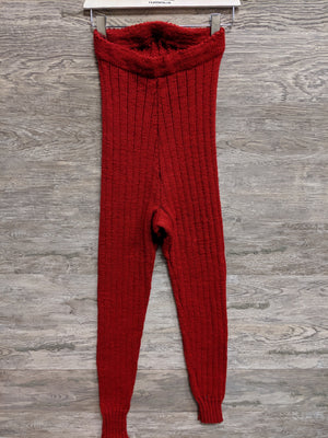 Red Knit Long Johns