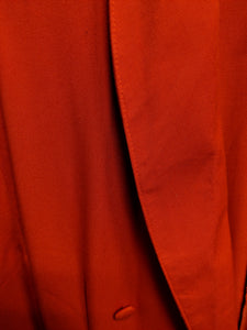 Contempo Bright Orange Blazer Dress