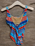 Trident Blue One Piece Swimsuit