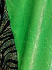 GH Green Zebra One Piece Swimsuit - Closet Freekz