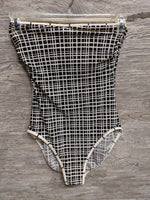 Gottex Black and White One Piece Swimsuit