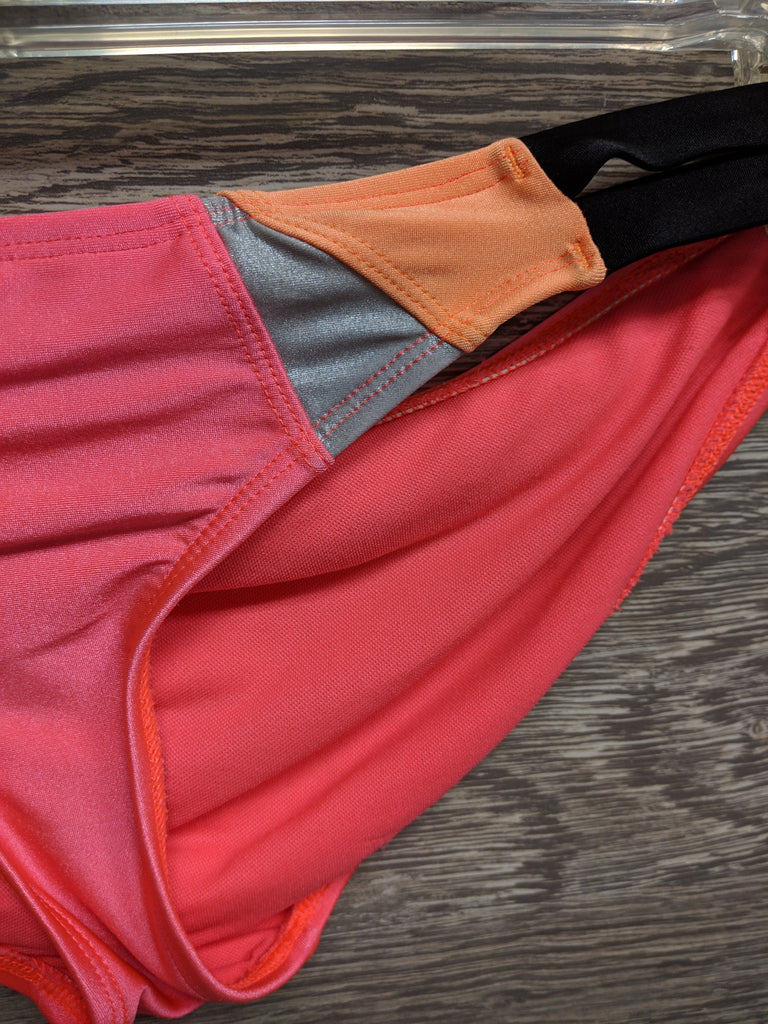 Body Glove Pink and Orange Two Piece Swimsuit