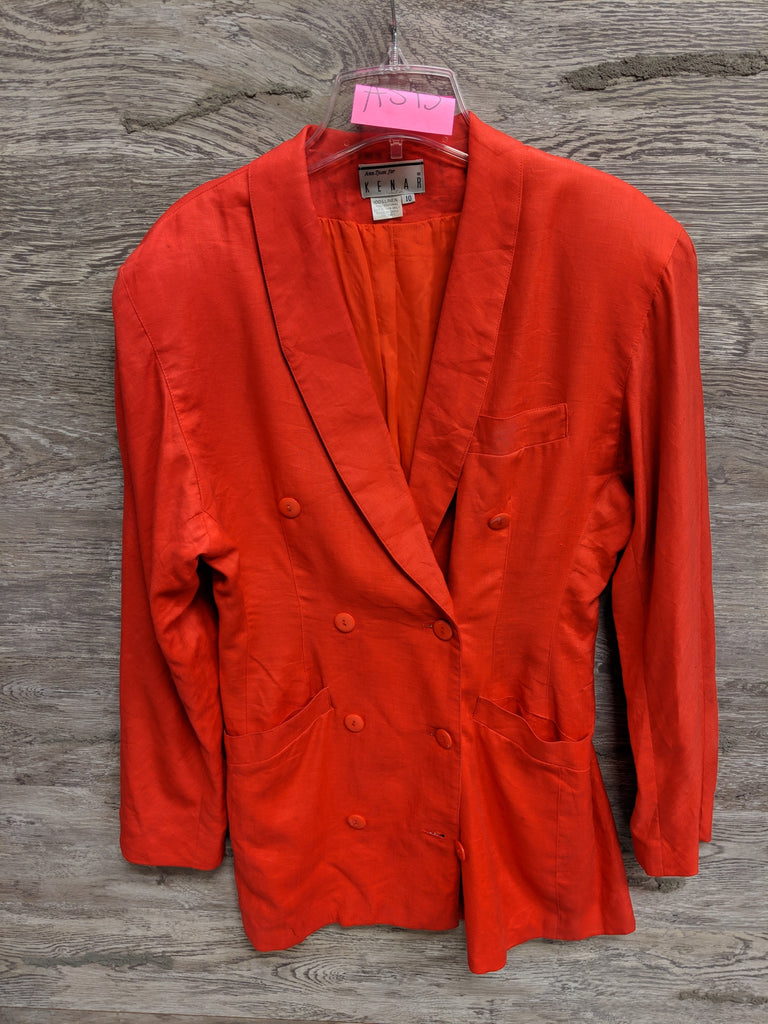 Kenar Red Blazer Dress