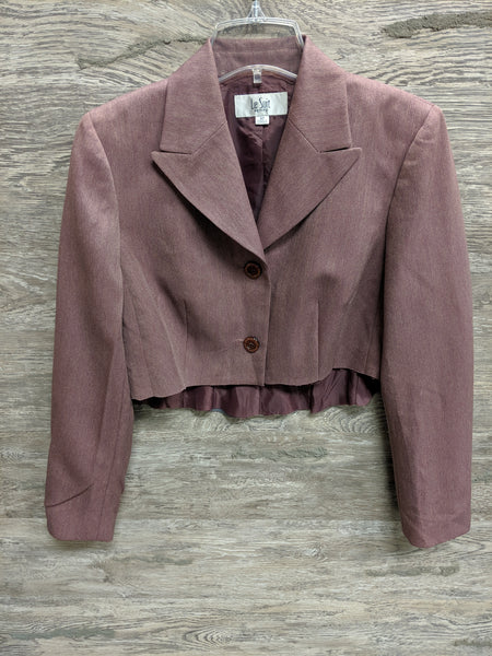 Le Suit Brown and Plum Blazer