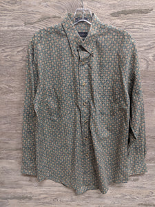 Van Heusen Squared Button Up - Closet Freekz