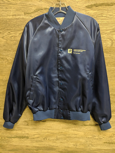 Taylor Blue Aircraft Bomber Jacket - Closet Freekz