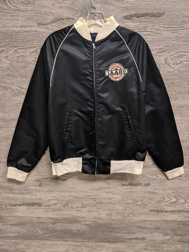 Team Boys Black IAABO Bomber Jacket - Closet Freekz