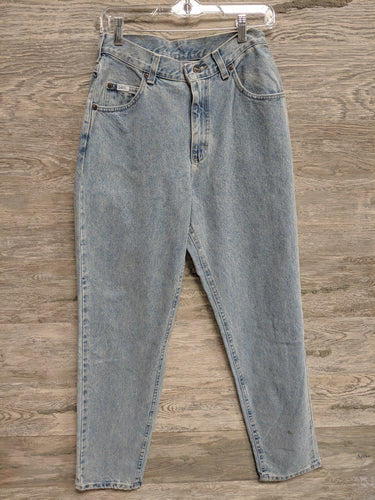 Lee Light Washed Tapered Leg Jeans