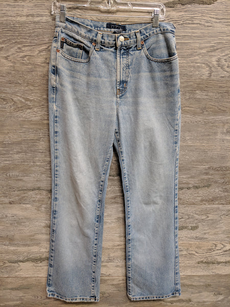 The Limited Light Washed Boot Cut Jeans