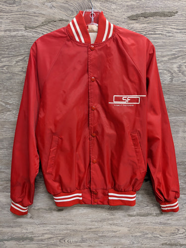 Red Sunbelt Bomber Jacket - Closet Freekz