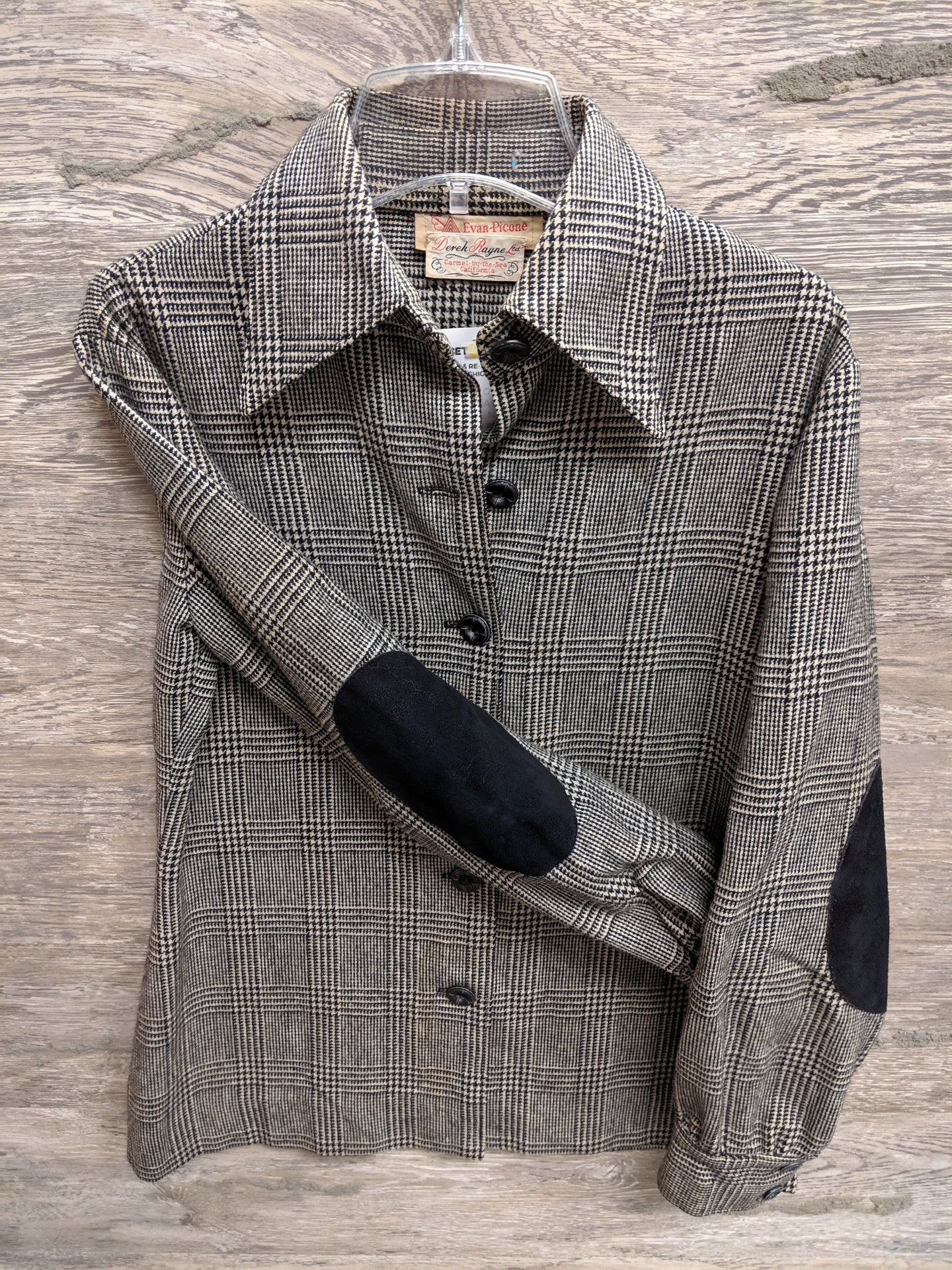 Derek Rayne Wool Vintage Button Up