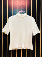 AS IS - Heary Lee Cream Mock Neck Top