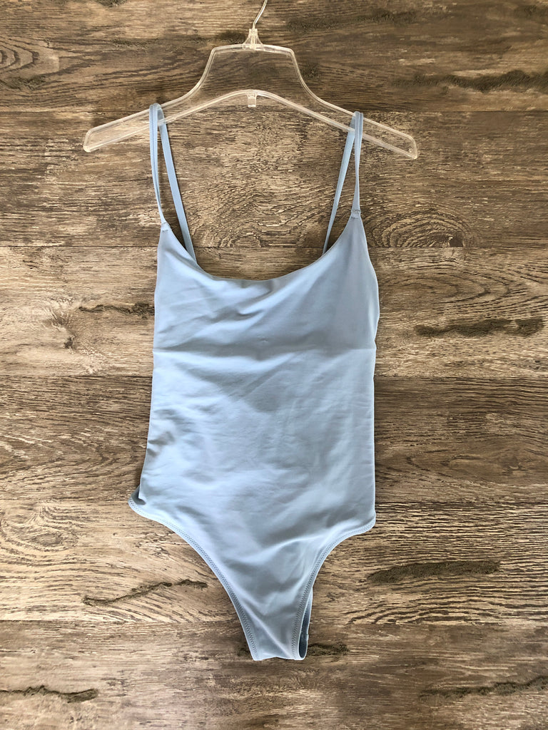 Aerie Baby Blue One Piece Swimsuit