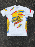 South Broward White Speckled Cycling Shirt
