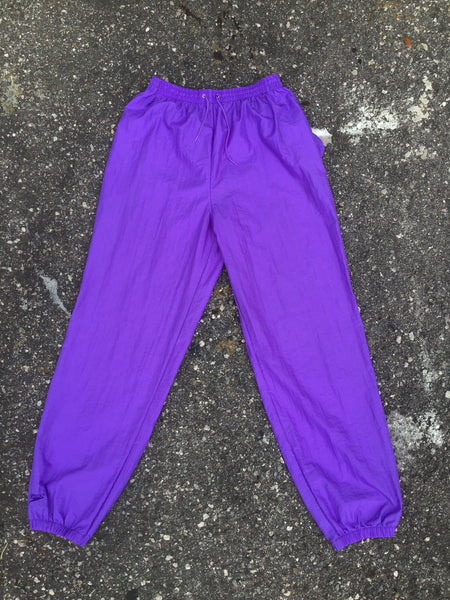 Speedo Purple Windbreaker Pants