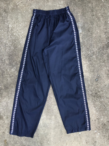 Diadora Black Snap Track Pants