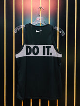 Nike Just Do It Black Athletic Muscle Tee