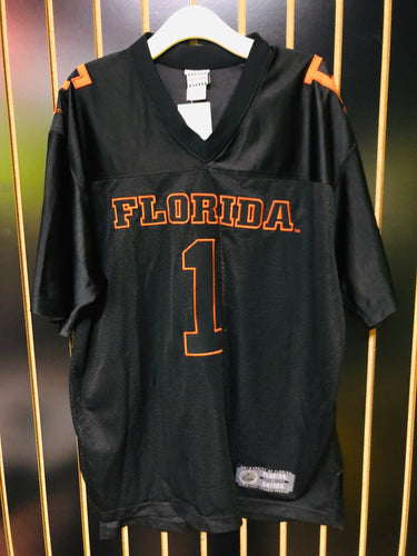 Retro Foot Locker Black and Orange Florida Gator's Mesh Jersey