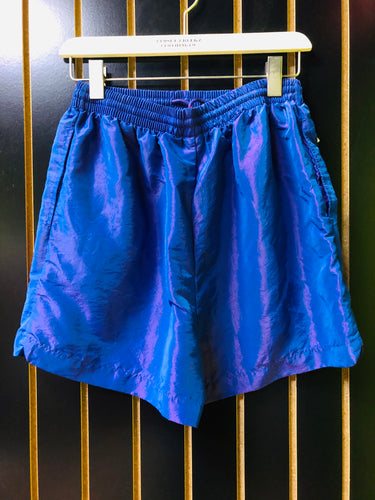The Body Co. Vintage Purple Reflective Shorts