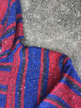 Earthbound Red and Blue Knit Pullover - Closet Freekz