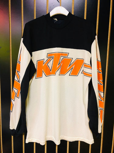 KTM Mesh Retro Racing Jersey Top
