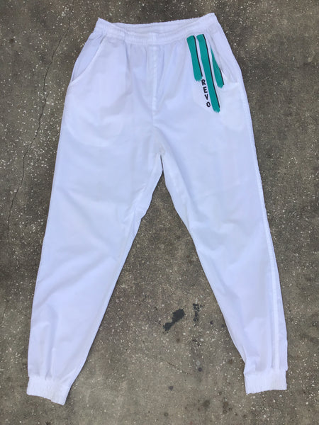 Revo White Athletic Pants